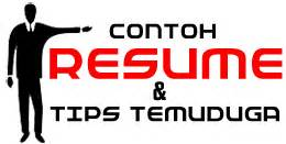 Contoh Resume Kerja Klinik Download Cv Templates Gov
